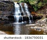 Muddy Falls In Swallow Falls...