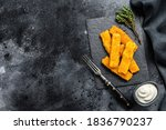 Crispy Fried Fish Fingers With...