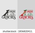 Christmas Vintage Design. Drink ...