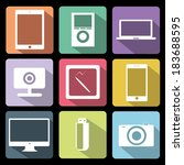 bright,camera,colorful,computer,design,device,draw,element,flash,flet,gadget,graphics,icon,illustration,imac