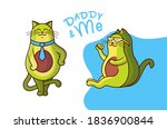 this is a family look vector... | Shutterstock .eps vector #1836900844