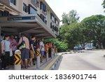 Tiong Bahru Road Bus Stop....