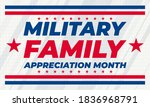 military family appreciation... | Shutterstock .eps vector #1836968791