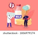 doctor give pills to patient... | Shutterstock .eps vector #1836979174