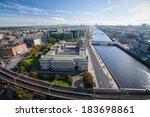 dublin skyline | Shutterstock . vector #183698861