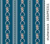 pretty vintage feedsack pattern ... | Shutterstock .eps vector #1836992311