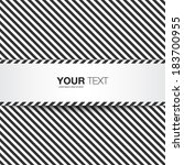 abstract black and white text... | Shutterstock .eps vector #183700955