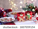 Gingerbread Man Cookies With...