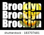 brooklyn new york  marijuana  | Shutterstock . vector #183707681
