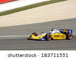 Birmingham Alabama USA - April 10, 2011: 6 Ryan Briscoe, Australia Team Penske - stock photo