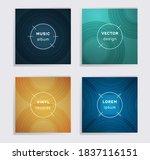digital vinyl records music... | Shutterstock .eps vector #1837116151