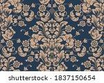 damask seamless pattern element.... | Shutterstock .eps vector #1837150654
