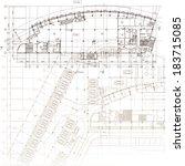Urban Blueprint  Vector ....