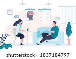 male character at... | Shutterstock .eps vector #1837184797