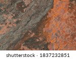 Gray orange merge surface stone ...