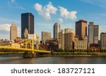Pittsburgh Downtown Skyline By...