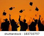 group of diverse international...   Shutterstock . vector #183733757