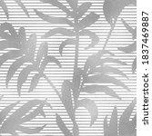 seamless pattern. jungle... | Shutterstock .eps vector #1837469887
