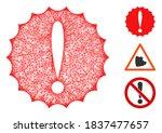 mesh dangerous conditions... | Shutterstock .eps vector #1837477657