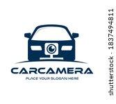 car camera vector logo template.... | Shutterstock .eps vector #1837494811