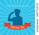 Happy Veterans Day  Soldier...