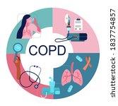 copd awareness month.vector... | Shutterstock .eps vector #1837754857