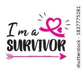 i'm a survivor. illustration...   Shutterstock .eps vector #1837775281