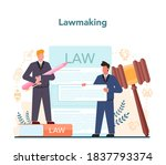 politician concept. idea of... | Shutterstock .eps vector #1837793374
