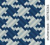 ornate striped textured... | Shutterstock .eps vector #183782261
