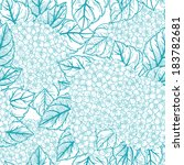 seamless vector pattern with... | Shutterstock .eps vector #183782681