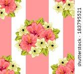 abstract elegance seamless... | Shutterstock . vector #183795521