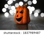 Small Ceramic Halloween Pumpkin....