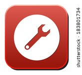 tools button   Shutterstock .eps vector #183801734