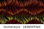 futuristic volumetric landscape....   Shutterstock .eps vector #1838049364