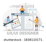 ui  ux concept vector....
