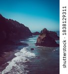 Rocky Oregon Coastline In...