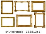 antique frames collection... | Shutterstock . vector #18381361