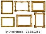 antique frames collection... | Shutterstock . vector #18381361