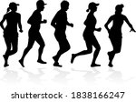 group of people. black...   Shutterstock . vector #1838166247