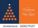christmas and new year greeting ...   Shutterstock .eps vector #1838175157