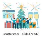 business team colleagues...   Shutterstock .eps vector #1838179537
