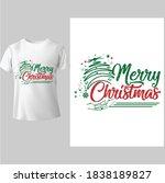 merry christmas shirt ...   Shutterstock .eps vector #1838189827