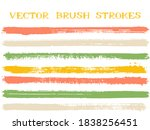 hipster ink brush strokes... | Shutterstock .eps vector #1838256451
