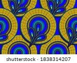 african seamless pattern ...   Shutterstock .eps vector #1838314207