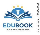 book education vector logo... | Shutterstock .eps vector #1838346967