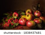 Apples And Branches Of Viburnum ...