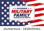 national military family month... | Shutterstock .eps vector #1838450461