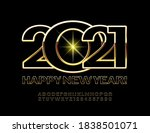 vector greeting card happy new... | Shutterstock .eps vector #1838501071