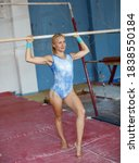 Potrait Of Fit Woman In Gymnast ...