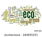 vector concept or conceptual... | Shutterstock .eps vector #183855251